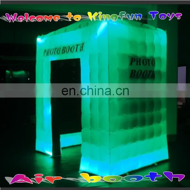 Hot sales small LED cube tent for photo