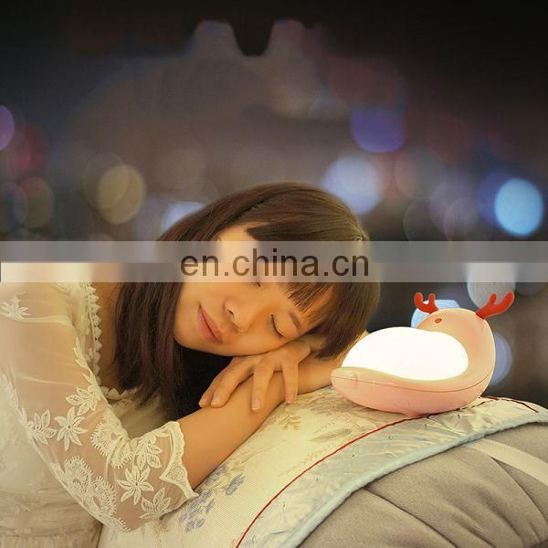 Decorative Baby Night Light LED Table Lamp Magic Portable Reading Lamp High Luminaire Desk Lamp