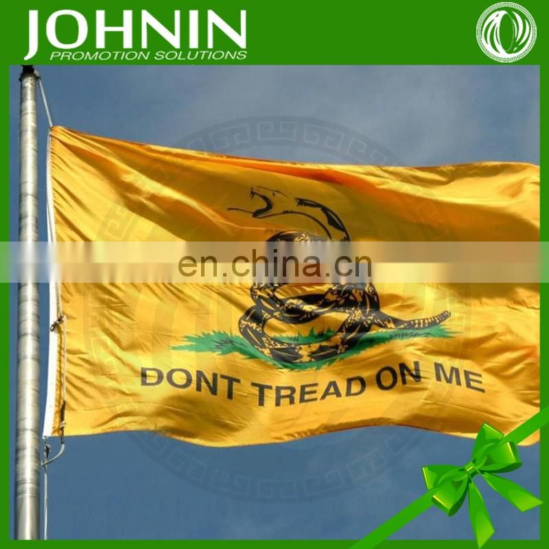 USA 90 x 150 cm don't tread on me 1775 promotional gadsen flag