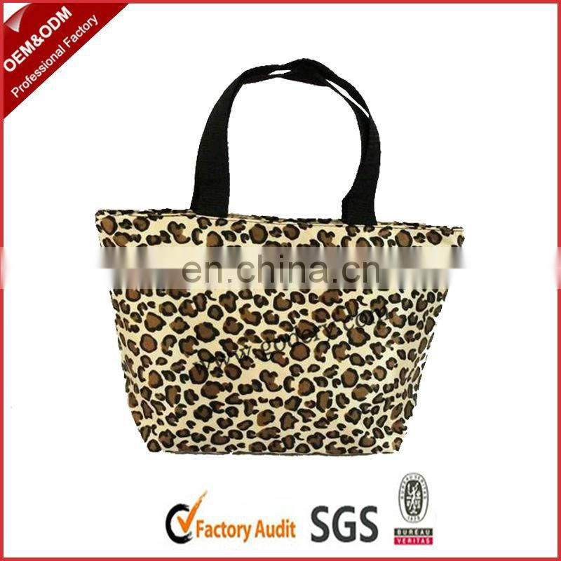 Ladies coated cotton handbags