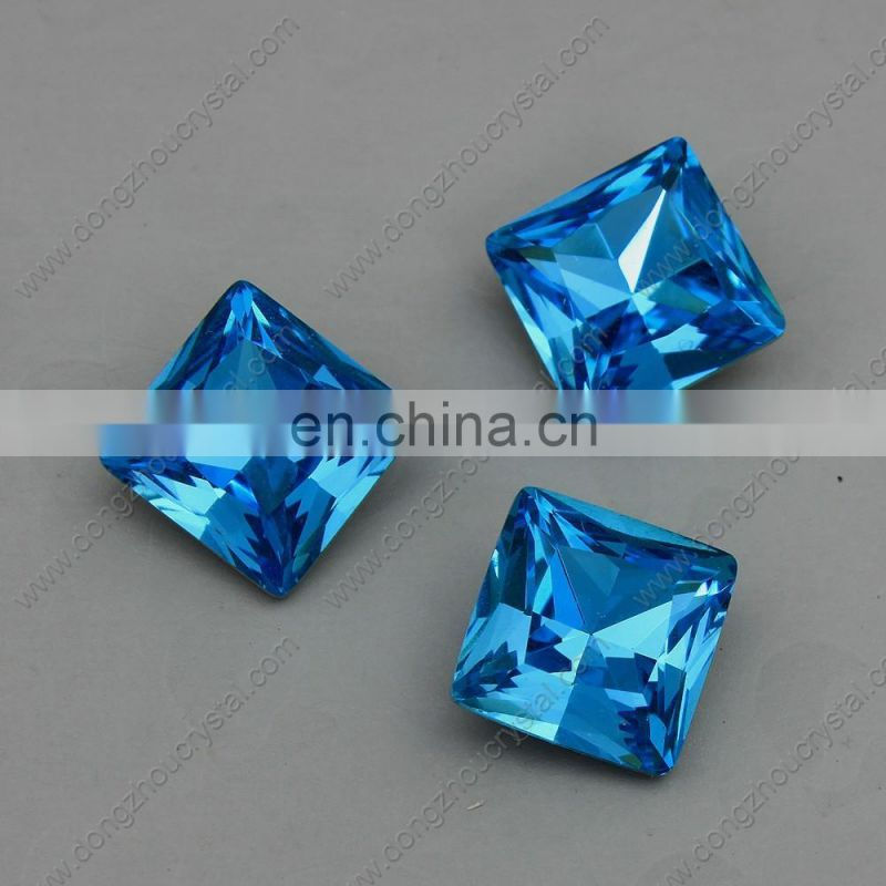 Loose Crystal square Shaped Fancy Stone 3009 Colored Fancy Stone