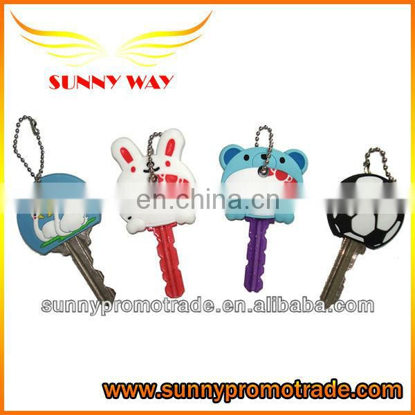 hot selling soft pvc key case