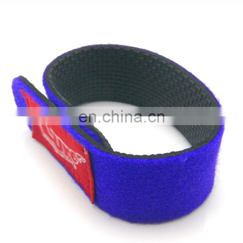 hot sell fishing rod hook and loop strap Fishing rod neoprene belt