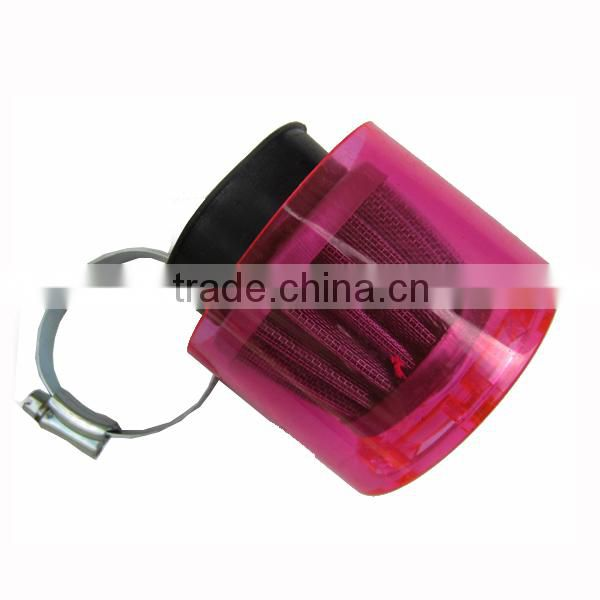 Wholesale red plastic dirt bike air filter cover pitbike atv scooter quad motorbike motorcycle
