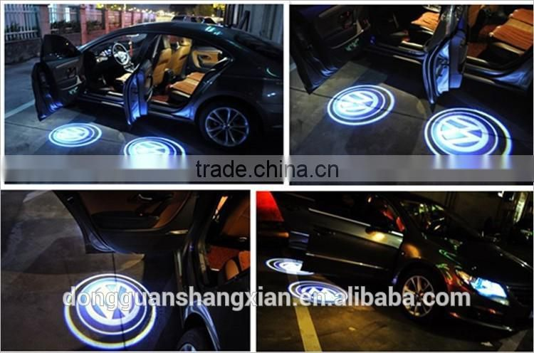 CycleMore Universal Car Projection LED Projector Door Shadow Light Welcome Light Laser Emblem Logo For Toyota