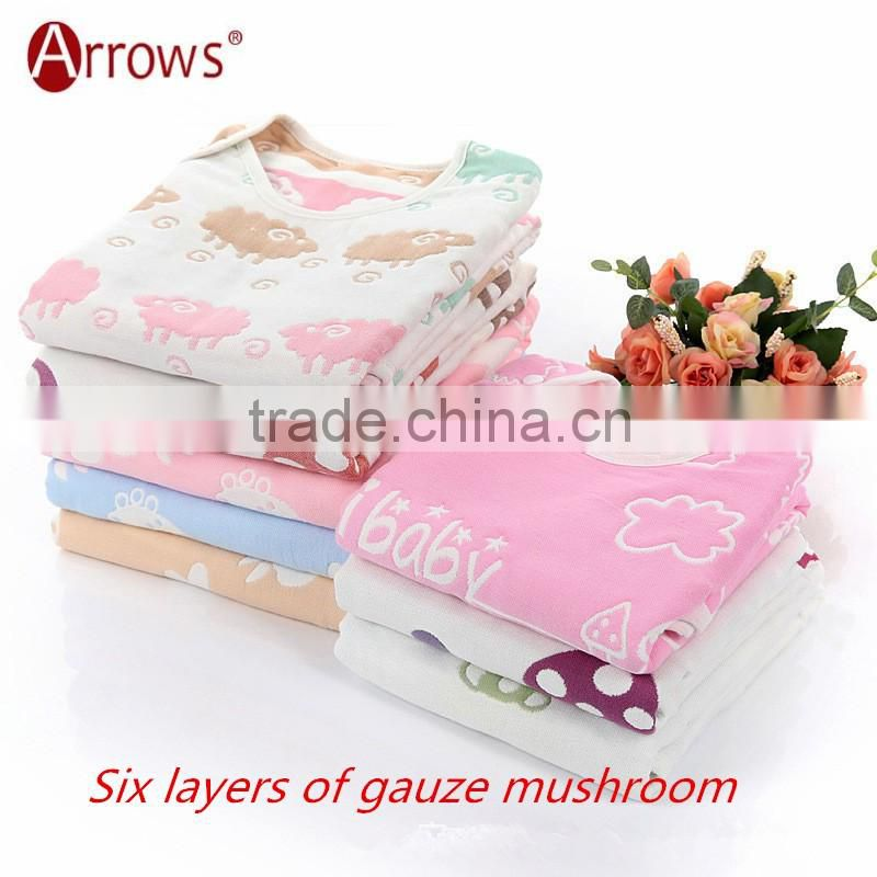 100% organic cotton newborn baby clothes Baby Summer Sleeping Bag for 0-6 Years Old Kids and Toddlers