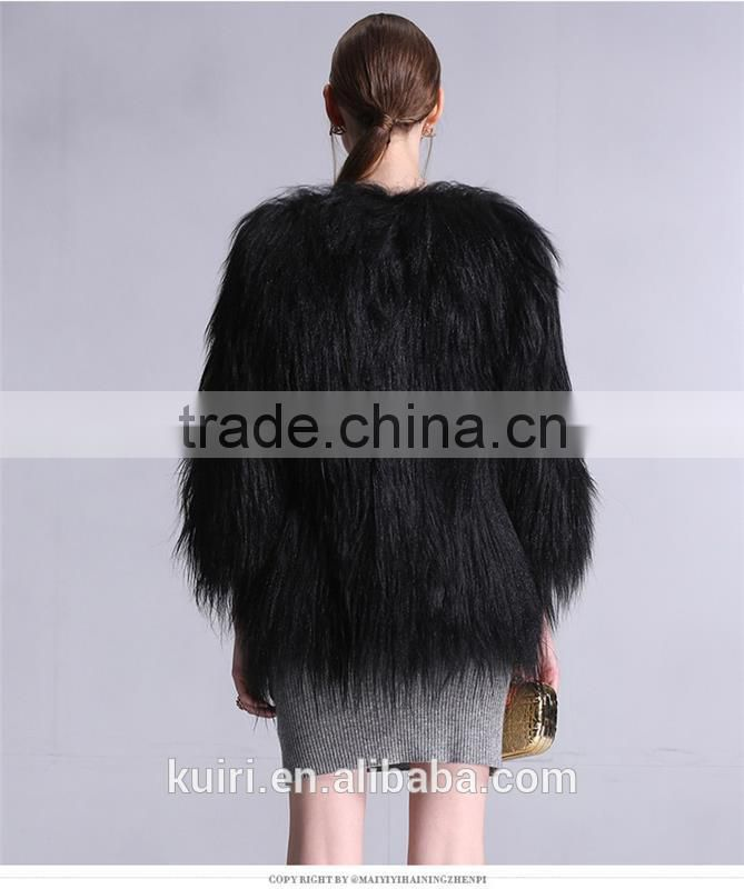 Hot Female New Arrival Brand Outerwear Coats chinchilla fur coat with low price Fpc-27