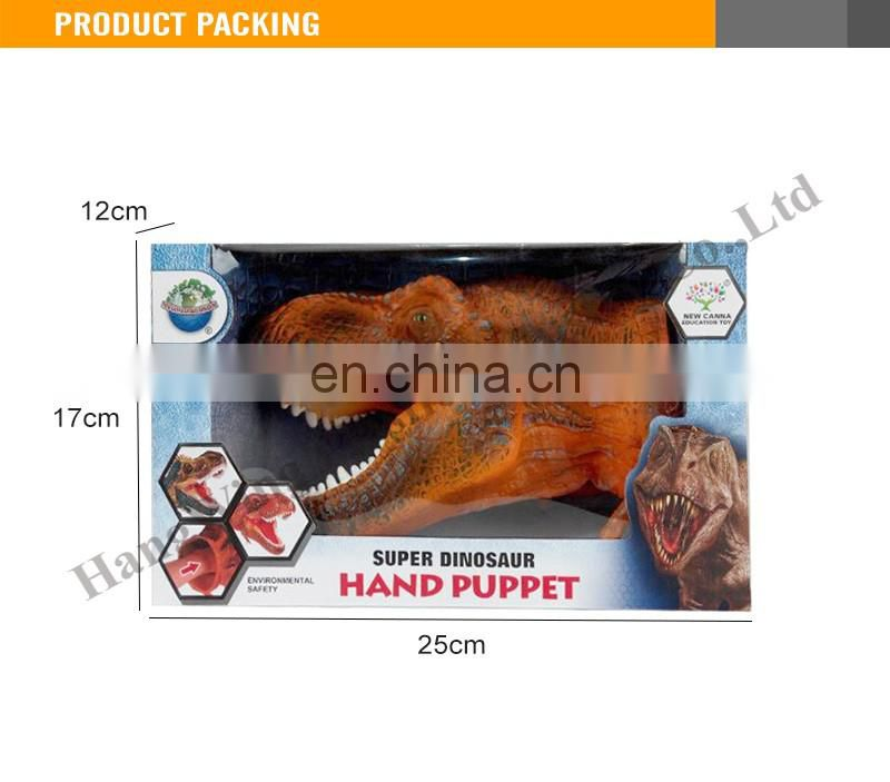10 Inches Suddenly and Violently Wulong Hand Puppets evade Glue Dinosaur Toy