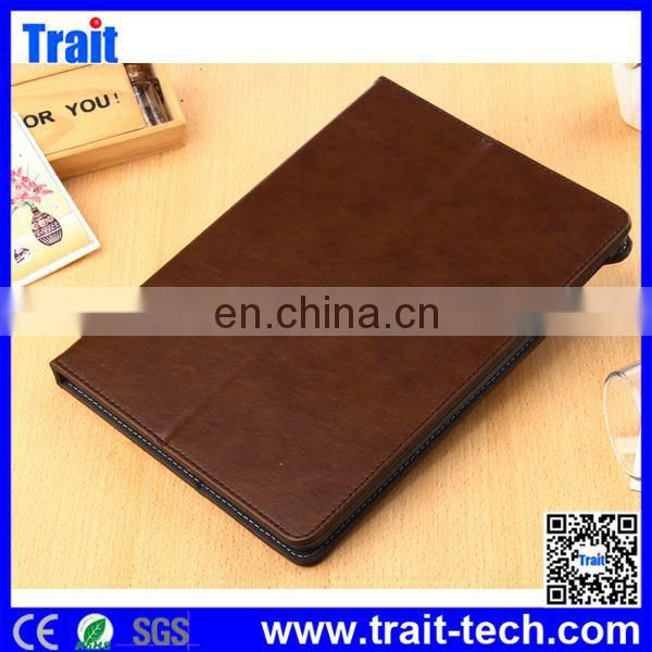 Wholesale Factory price Leather Flip Case for iPad Air 2 with Elastic Belt,case for ipad air 2