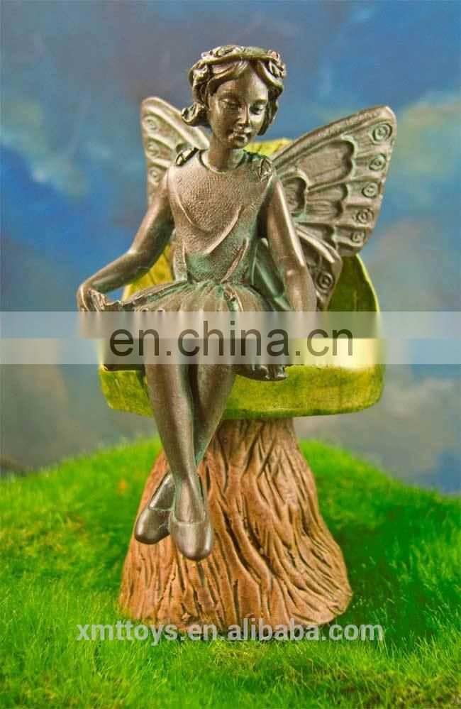 2014 resin pretty miniature fairy statue wholesale