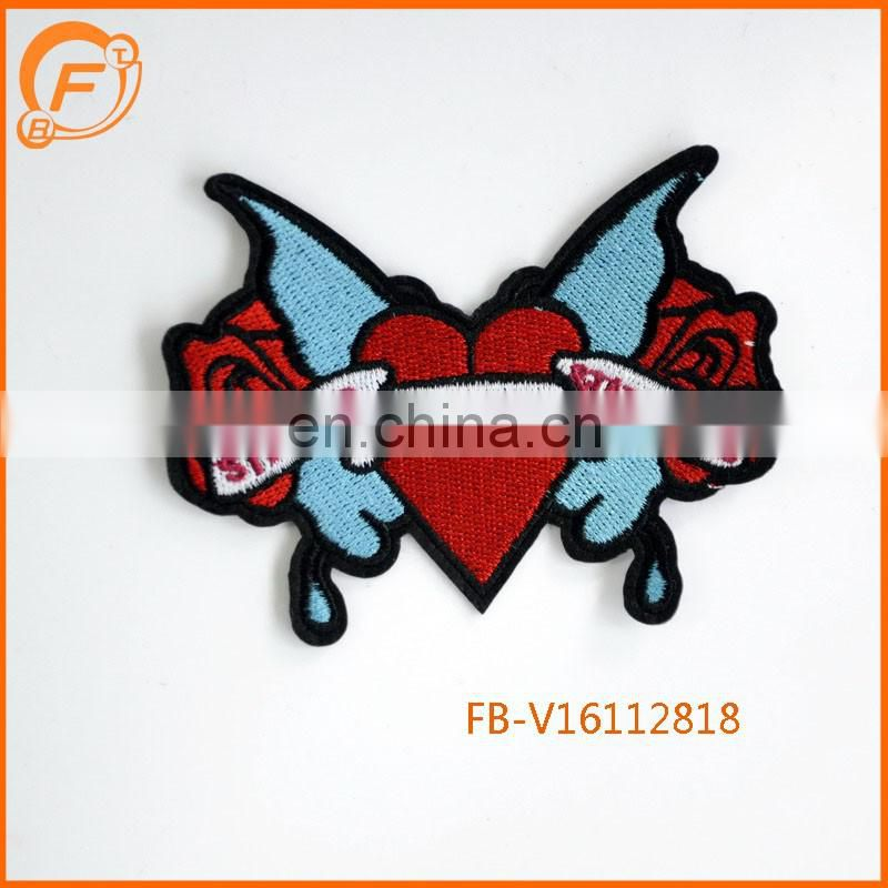 Embroidery Patch Custom Badge Fabric