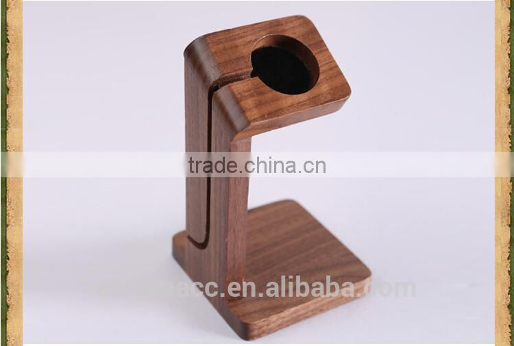 Eco-friendly natural Wooden holder for apple watch