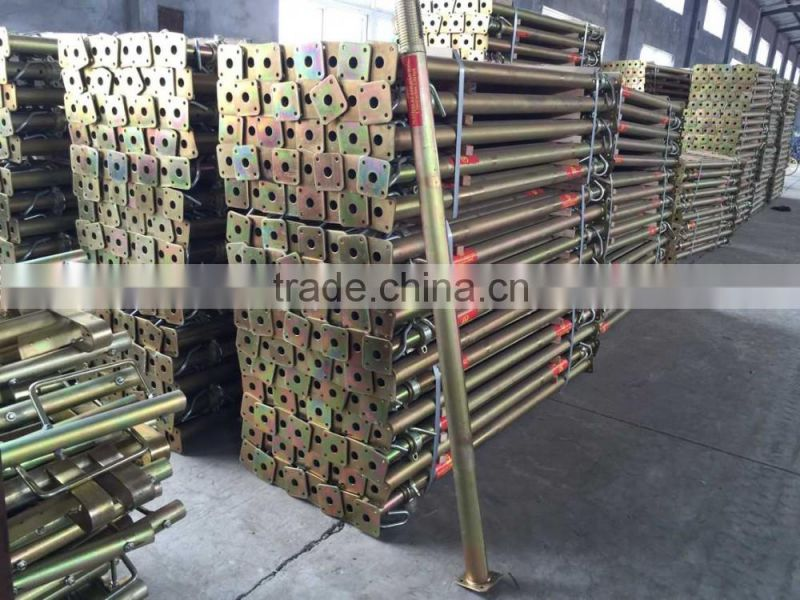 2.0m-3.5m height adjustable steel props shoring for construction projects scaffold system
