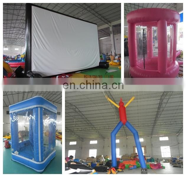 Hot sale small inflatable movie screen inflatable projector screens