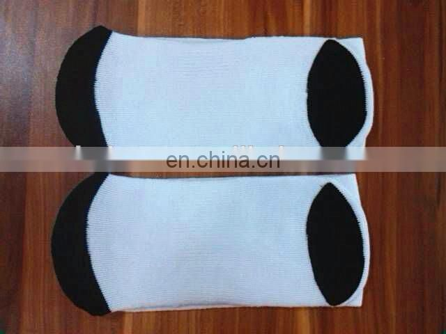 soft cozy socks polyester material for sublimation printing