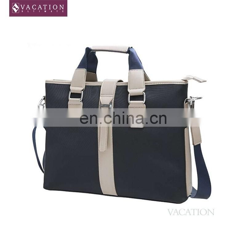 High quality men briefcase with belt in low price 2016