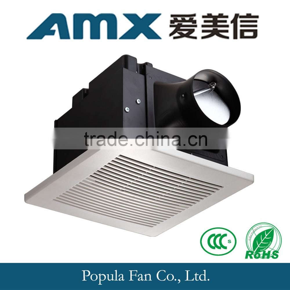 Hot Sale Super Quiet DC Power Bathroom Ceiling Mounted Ventilation Fan with CE & SASO Image
