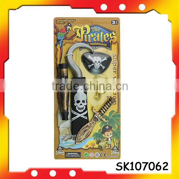 pirate whiskers plastic pirate eye patch with high quality