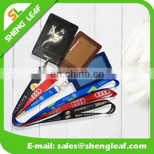 High quality promotional custom sublimation printed polyester neck lanyard