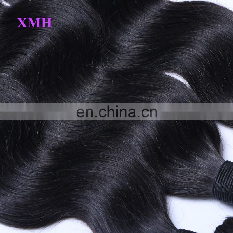 Top grade 3 bundle body wave 24 inch virgin remy brazilian hair weft