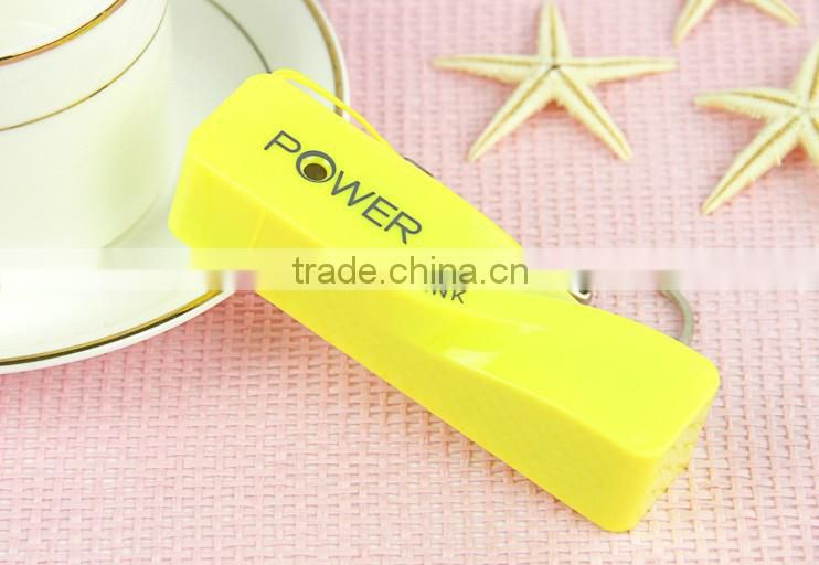 ABS Material Hot Sell Keychain Perfume Power Bank 2200mAh