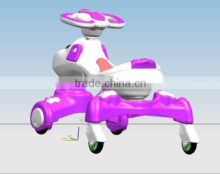 Second-hand usded mould baby toy scooter mould injection toy mould