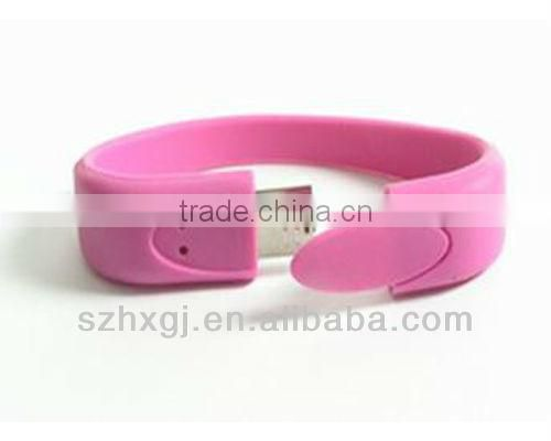 Big discount!! 1GB 2GB 4GB 8GB 16GB 32GB Silicone Cable USB With Customed Logo