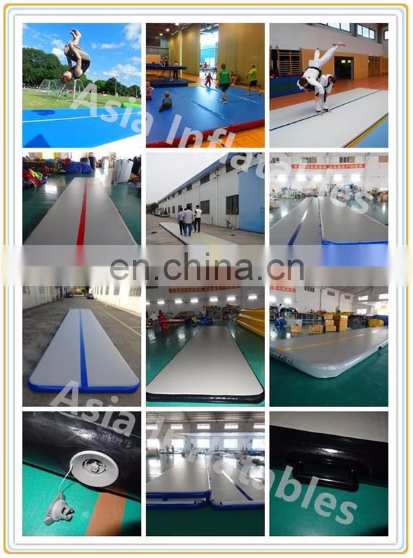 Outdoor / indoor air gym mat jumping rolling mat for gymnastic