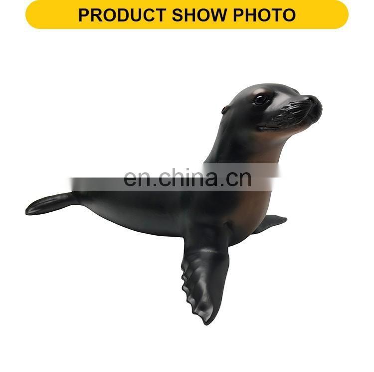 Hot sale soft plastic mold sea lion toy for wholesale
