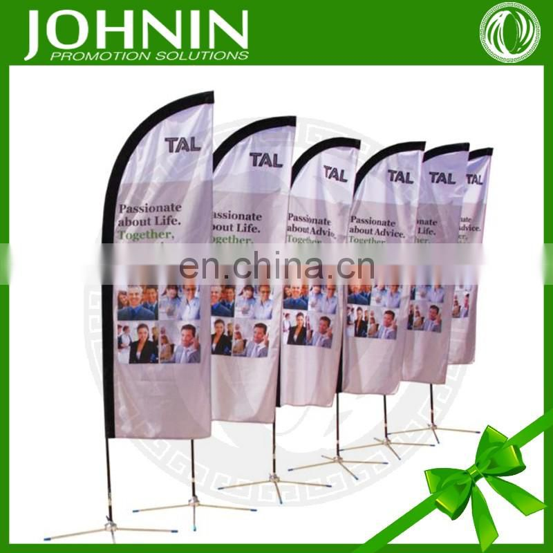 hot selling outdoor custom printing cheap durable feather banner flag