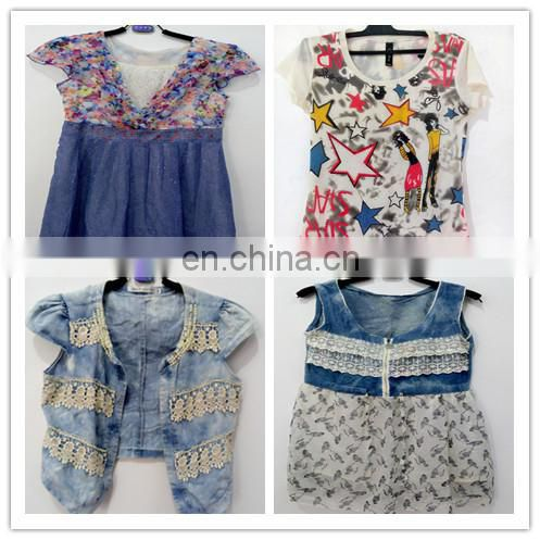 used clothing wholesale lady fashion blouses and dress from turkey
