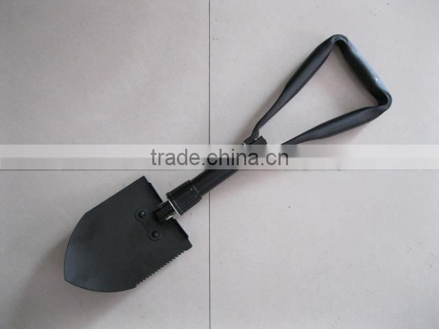 PORTABLE, STRONG AND COMPACT FOLDING SHOVEL