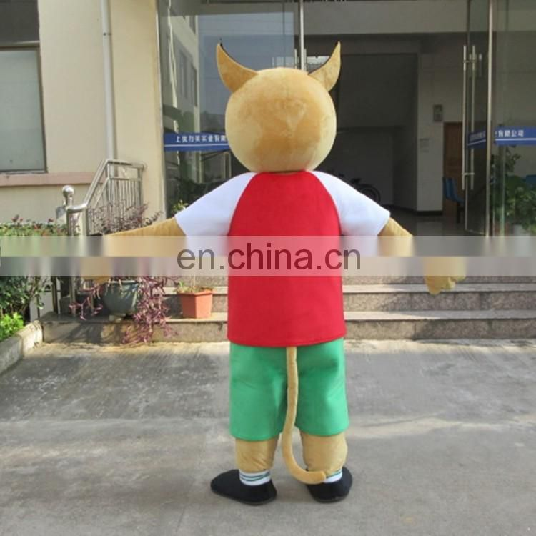 Free shipping 2017 CISM WORLD CUP mascot costume