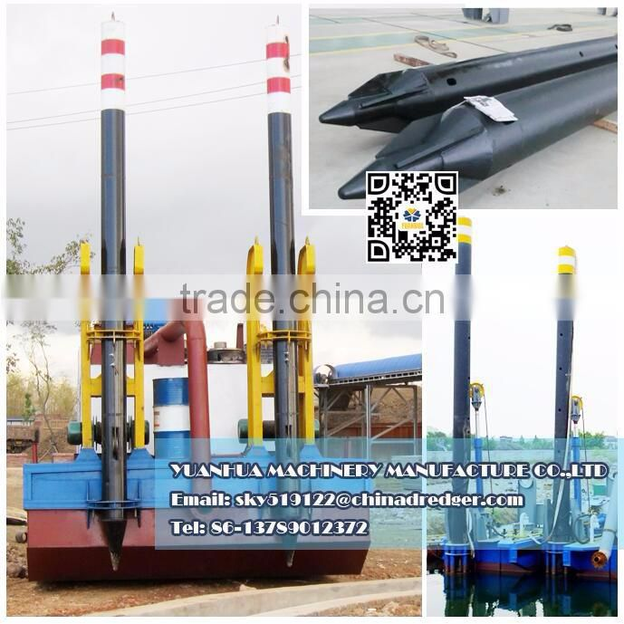 400 cube meter per hour river sand cutter suction dredging machine