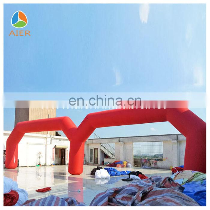 Huge inflatable arch,double gate inflatable archway,outdoor decorative inflatable arch