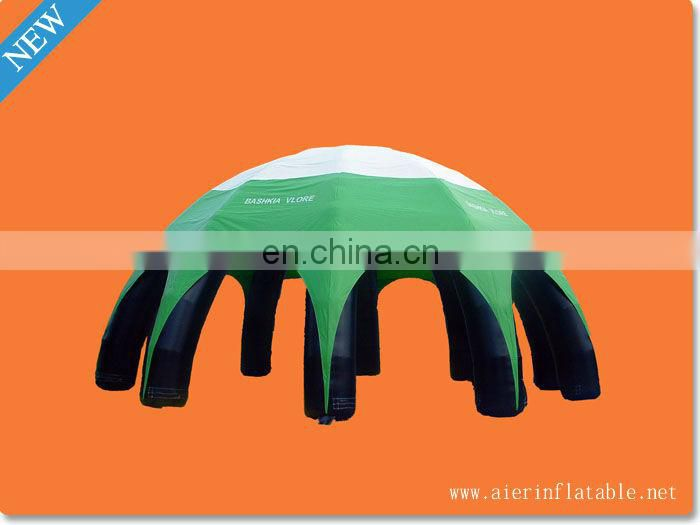 Outdoor Inflatable Tent with 4 Pillars for Advertising