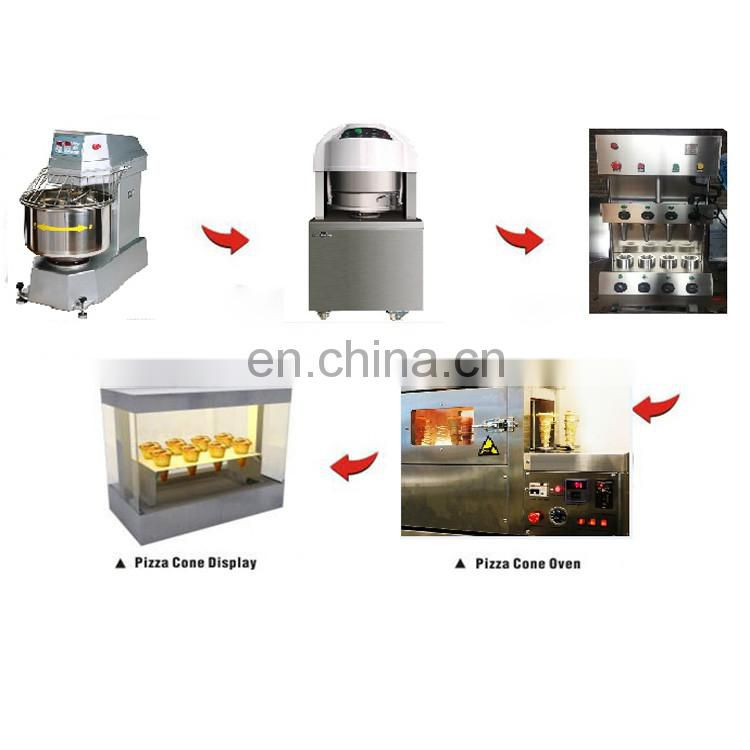 With 1 year warranty sweet making machine ice cream cone making machine pizza cone maker