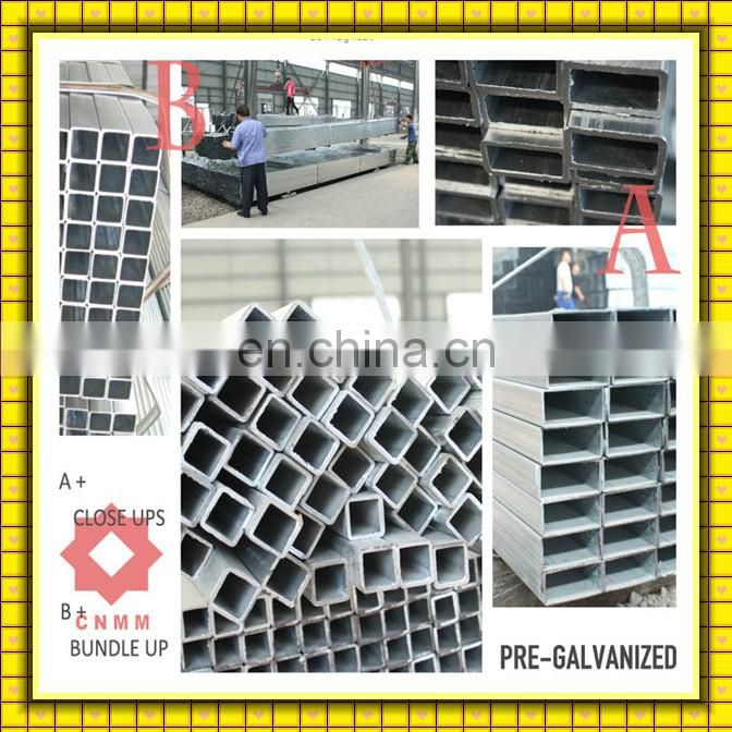 ASTM A500 Mild carbon steel q235steel pipe/erw welded tubes/specification of gi pipe