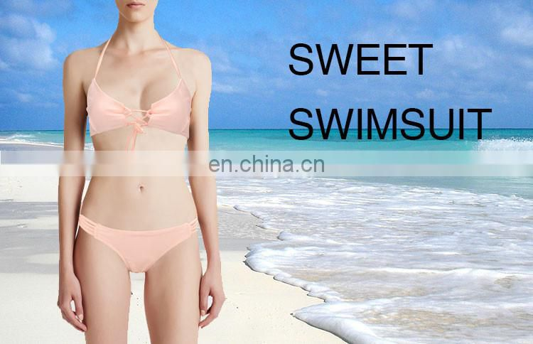 High Quality Custom latest sexy girls open bikini Woman Bandage Bikini