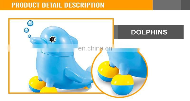 Funny B/O Dolphin Walking Toys with music and light walking dolphin toy
