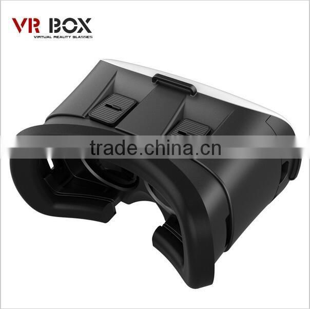 Virtual reality glasses 2nd generation 3D VR Box fashional new style good quality 3d glasses for watching TV or movies