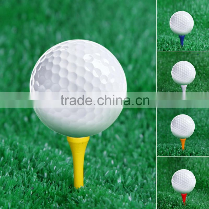 100Pcs 83mm Mixed Color Wood Golf Tees