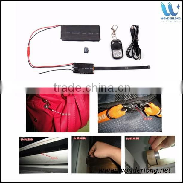 DIY Module SPY Hidden Camera Video HD 1080P MINI DV DVR Motion Detect Remote Control modulo spy camera