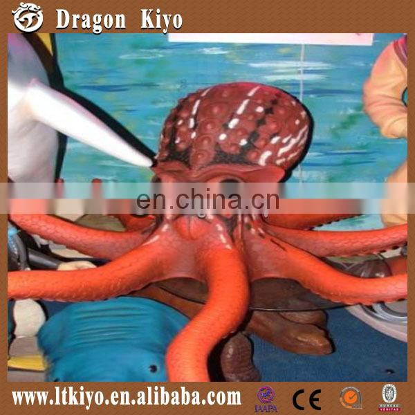 2016 moving simulation sea animal model of octopus