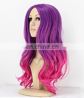 Wholesale synthetic human hair full lace wig with free Random sample