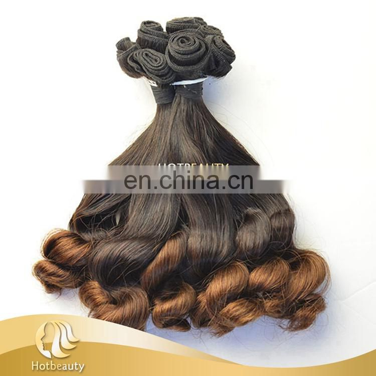 Hot Beauty Wholesale 8A Brazilian Ombre Funmi Human Hair Extention