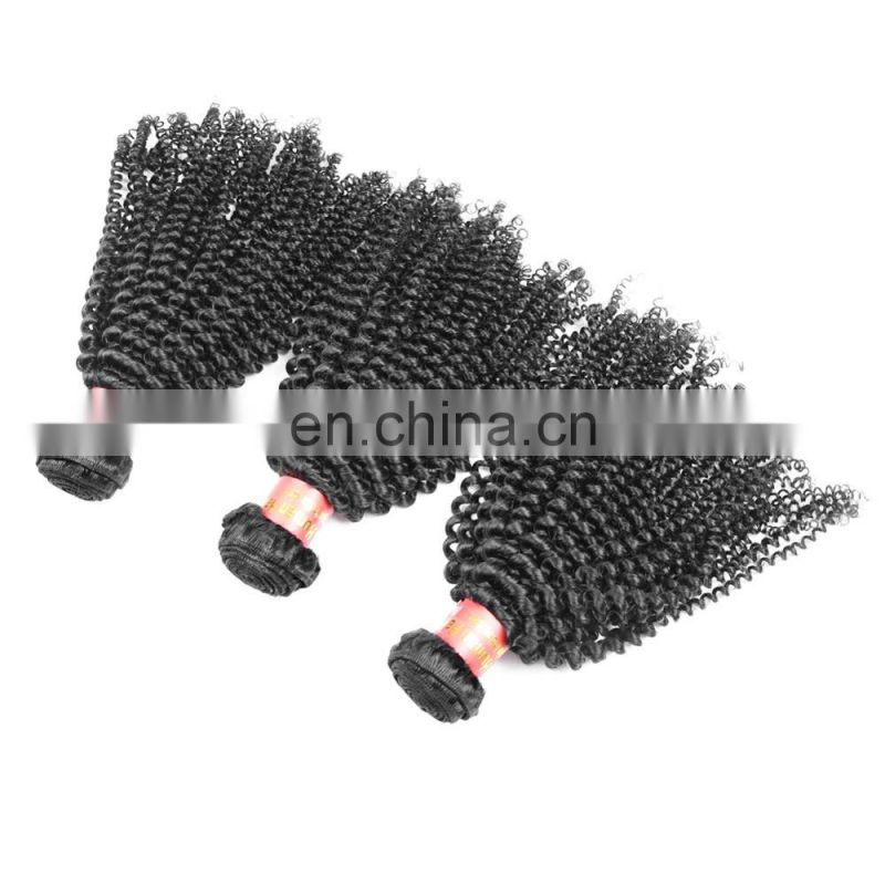 Youth Beauty Hair Top Quality Kinky Curl Sew In Virgin Indian hair full curicle virgin remy hair weaving