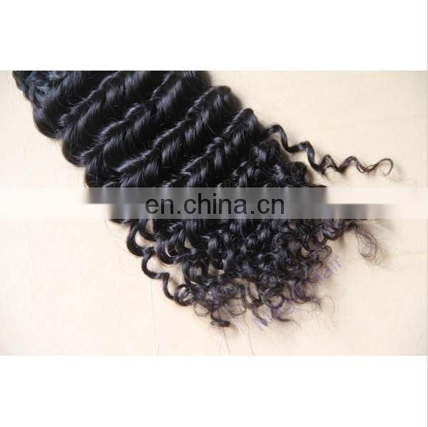 Brazilian virgin hair unprocessed Top Quality Cheap Brazilian Deep Wave Human Hair Weft