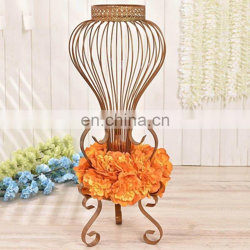 Metal Vase Stands Centerpiece For Flower Holder Party Home Wedding Decoration
