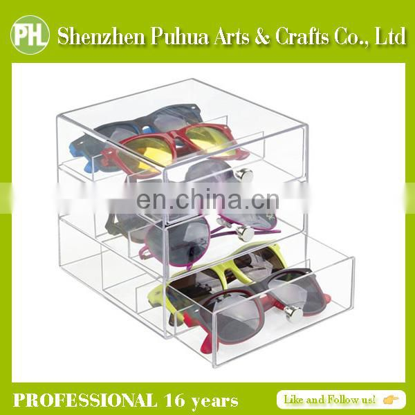 Cheap Perspex Supermarket Shelves Display, Acrylic Glass Rack Holder